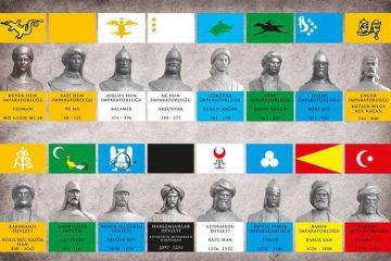 tarihte 16 türk devleti