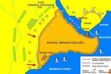 Haliç'teki ilk köprü