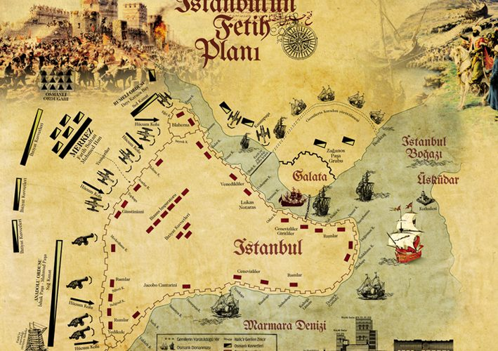 İstanbul'un fetih planı