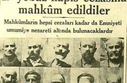 Tek parti dönemi idamları